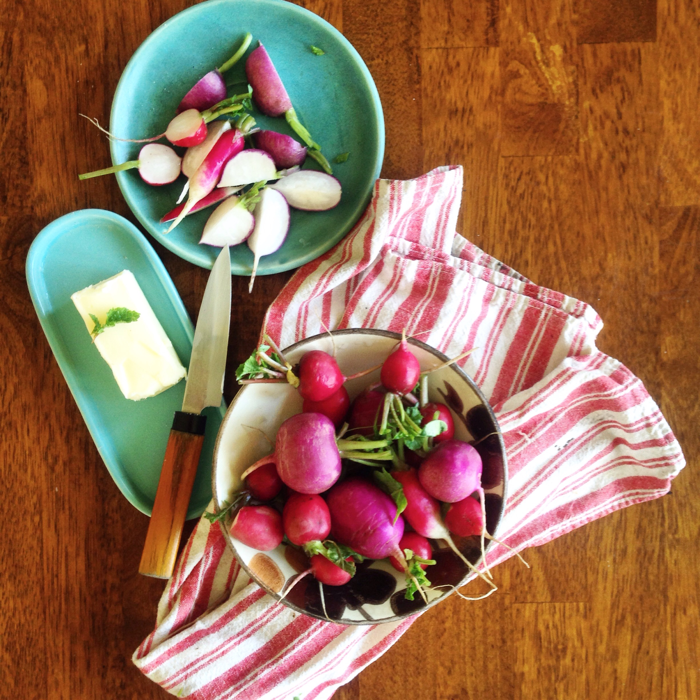 Radishes with Butter
