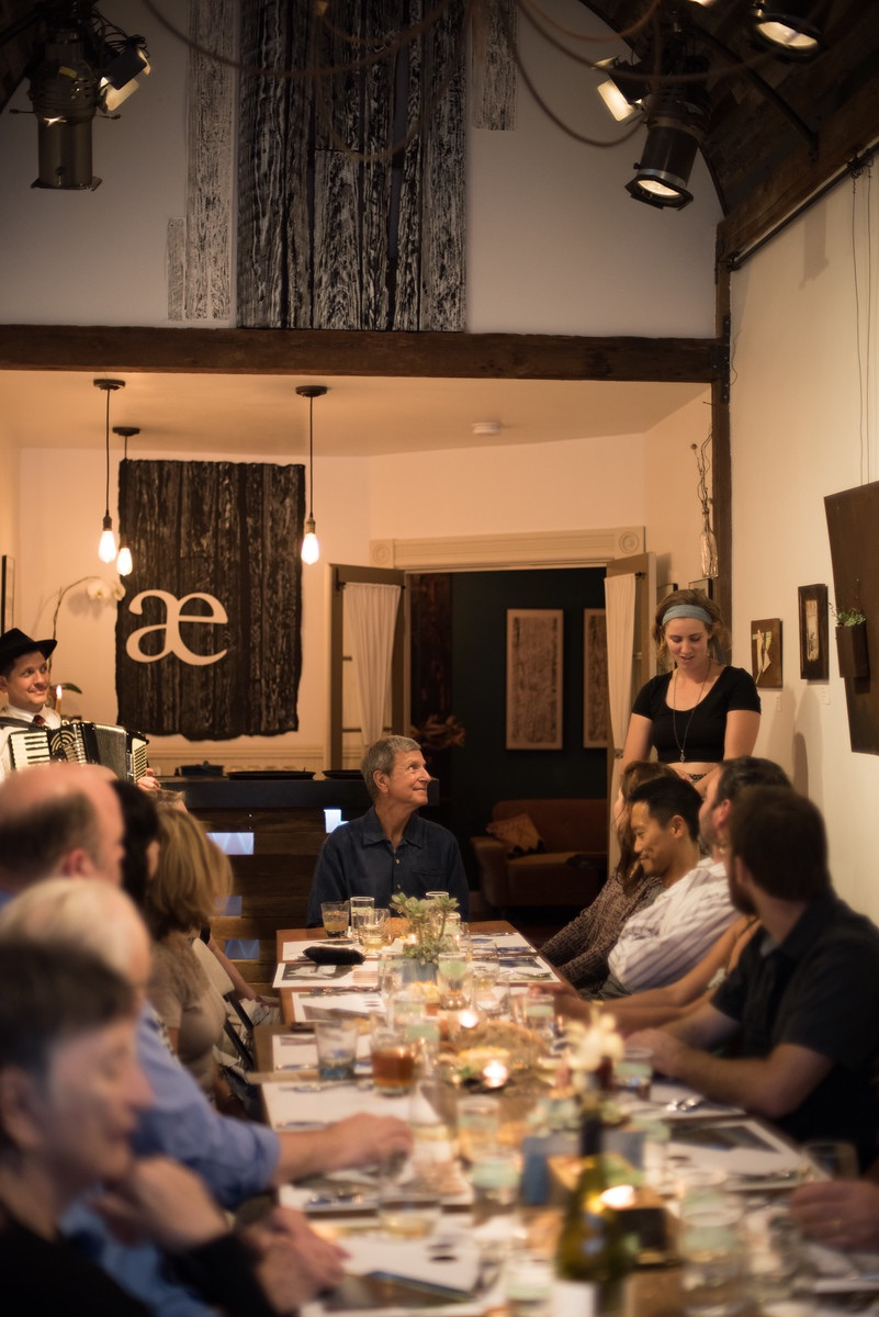 A Full Moon Feast at   lille æske gallery  in Boulder Creek, CA Photo by Adriane White Photography