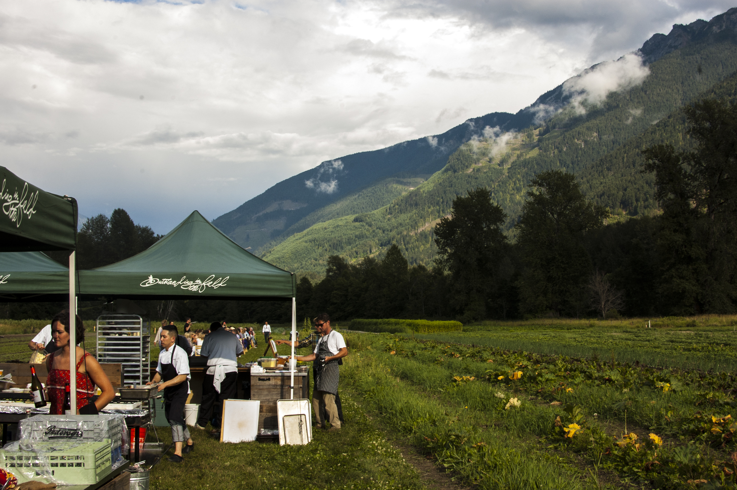 The Kitchen at North Arm Farm in Pemberton, British Columbia