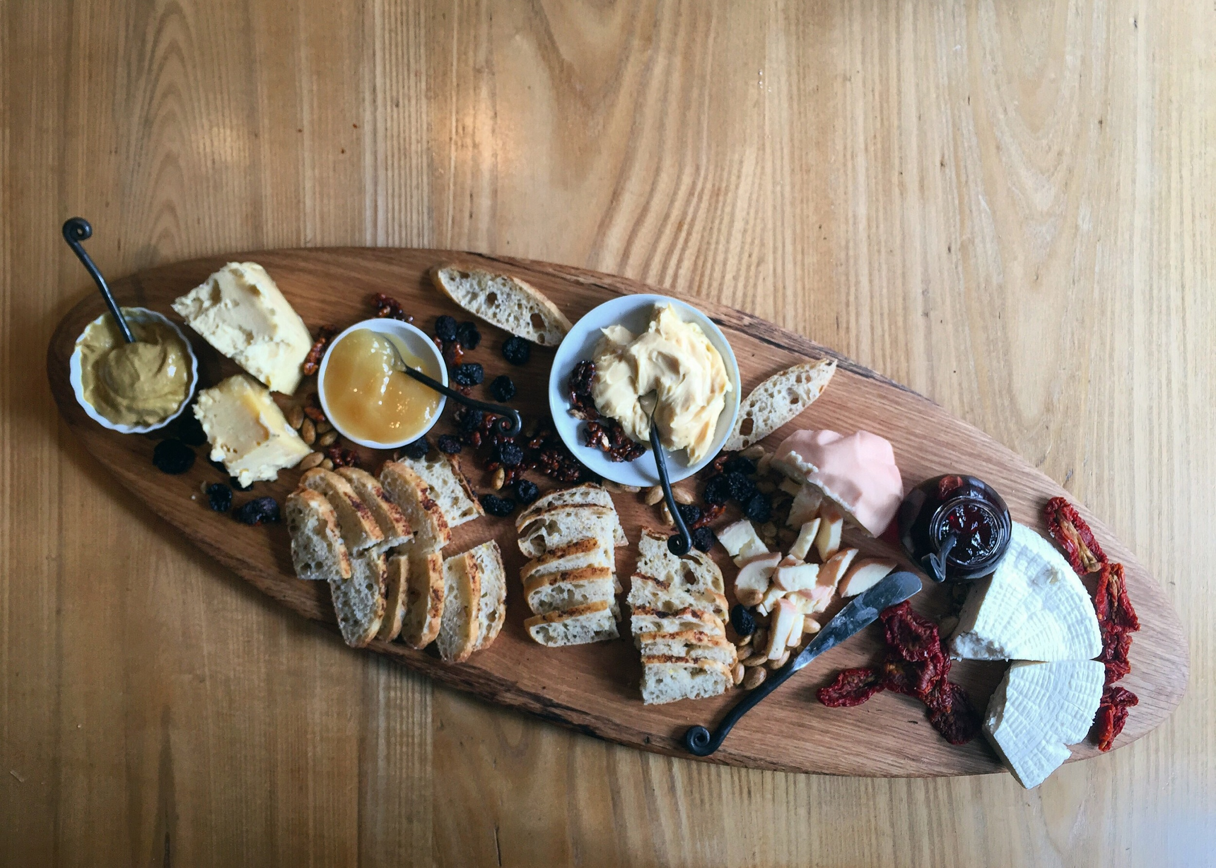 Bobolink Cheese Board// Upper Black Eddy, Pennsylvania