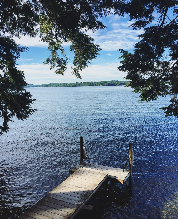 Dock// Belgrade Lakes, Maine