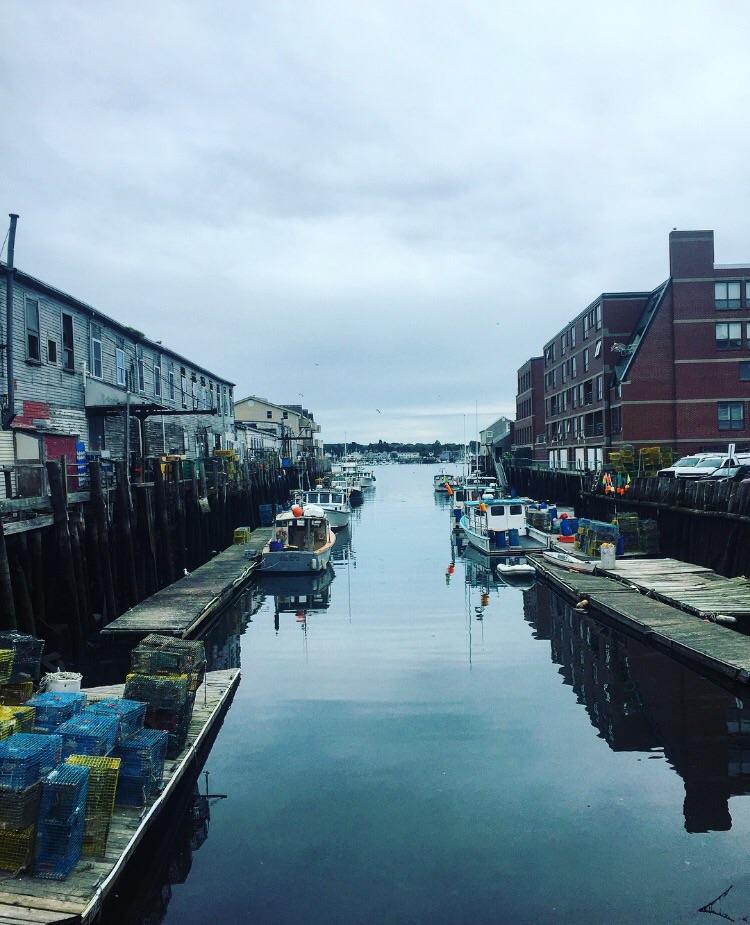 Dock// Portland, Maine