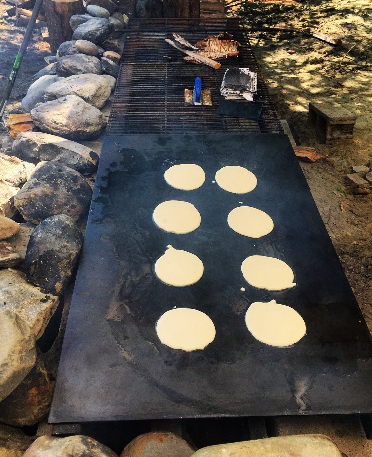 Griddle Greatness//Belgrade Lakes, Maine