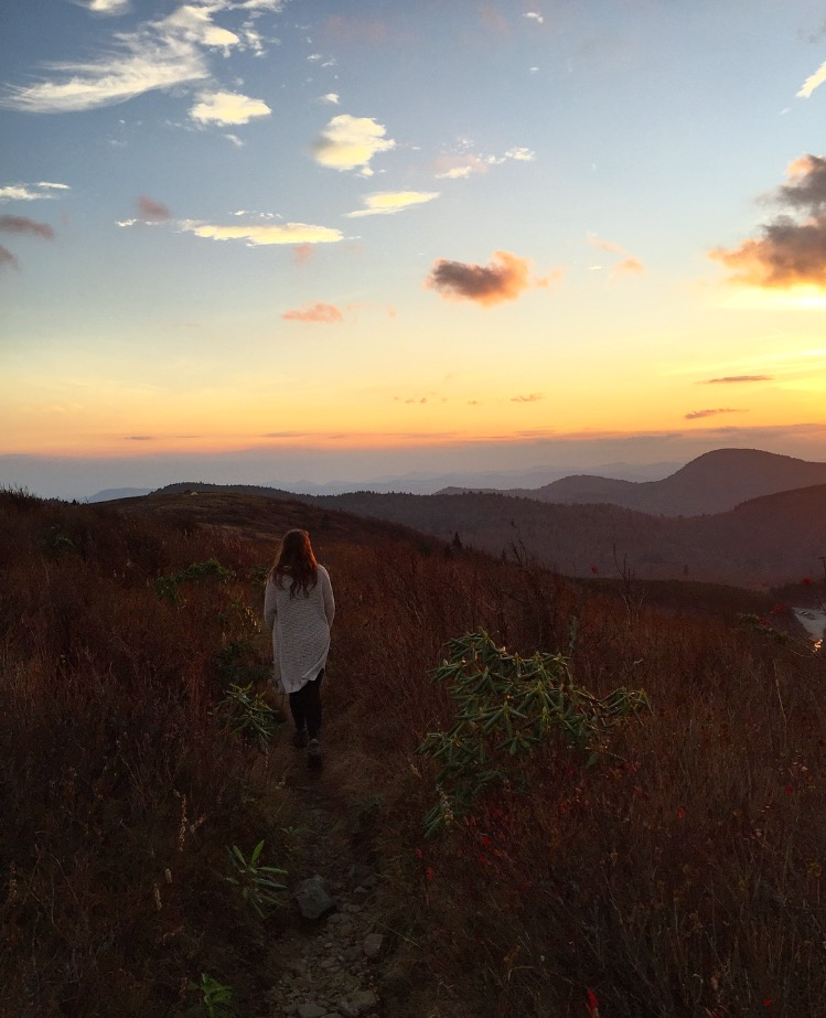 Claire//  Black Balsam Knob, North Carolina