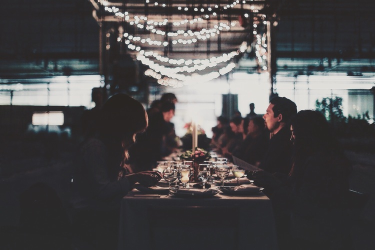 Last Year's Table//Photo by Ellie Tremble