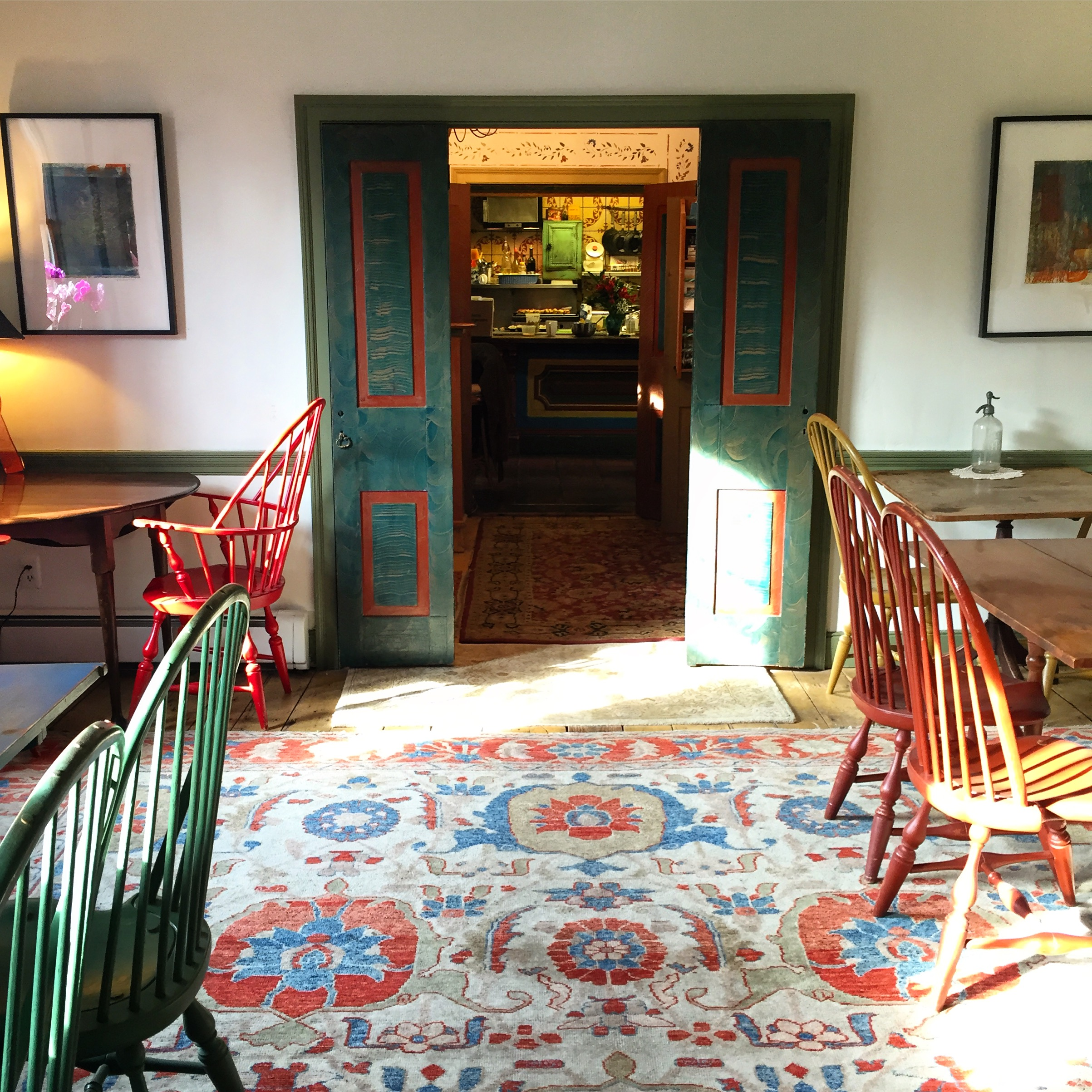 The Dinning Room at Bridgeton House on the Delaware// Upper Black Eddy, Pennsylvania