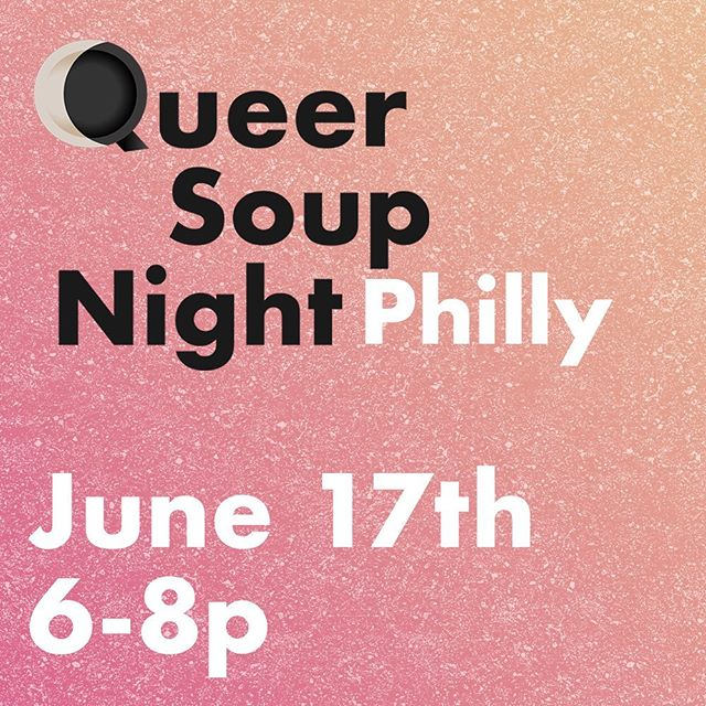 Beyond excited to be hosting the next @queersoupnight in Philly @rowhousegrocery and during Pride no less! Come out for delicious food from @cskisforkitchen @1149coop @foodeveryonedeserves and more. A pay what you can event, NO ONE WILL BE TURNED AWAY FOR LACK OF FUNDS! All of the proceeds will go back into funding the community table and kitchen programming @rowhousegrocery. Dietary restrictions accommodated! See you there🌈#phillypride