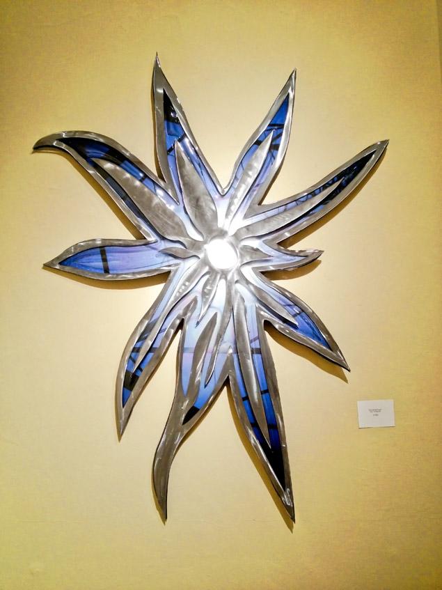 """Son of spark 54"""" x 45"""" - Rowland Augur"""