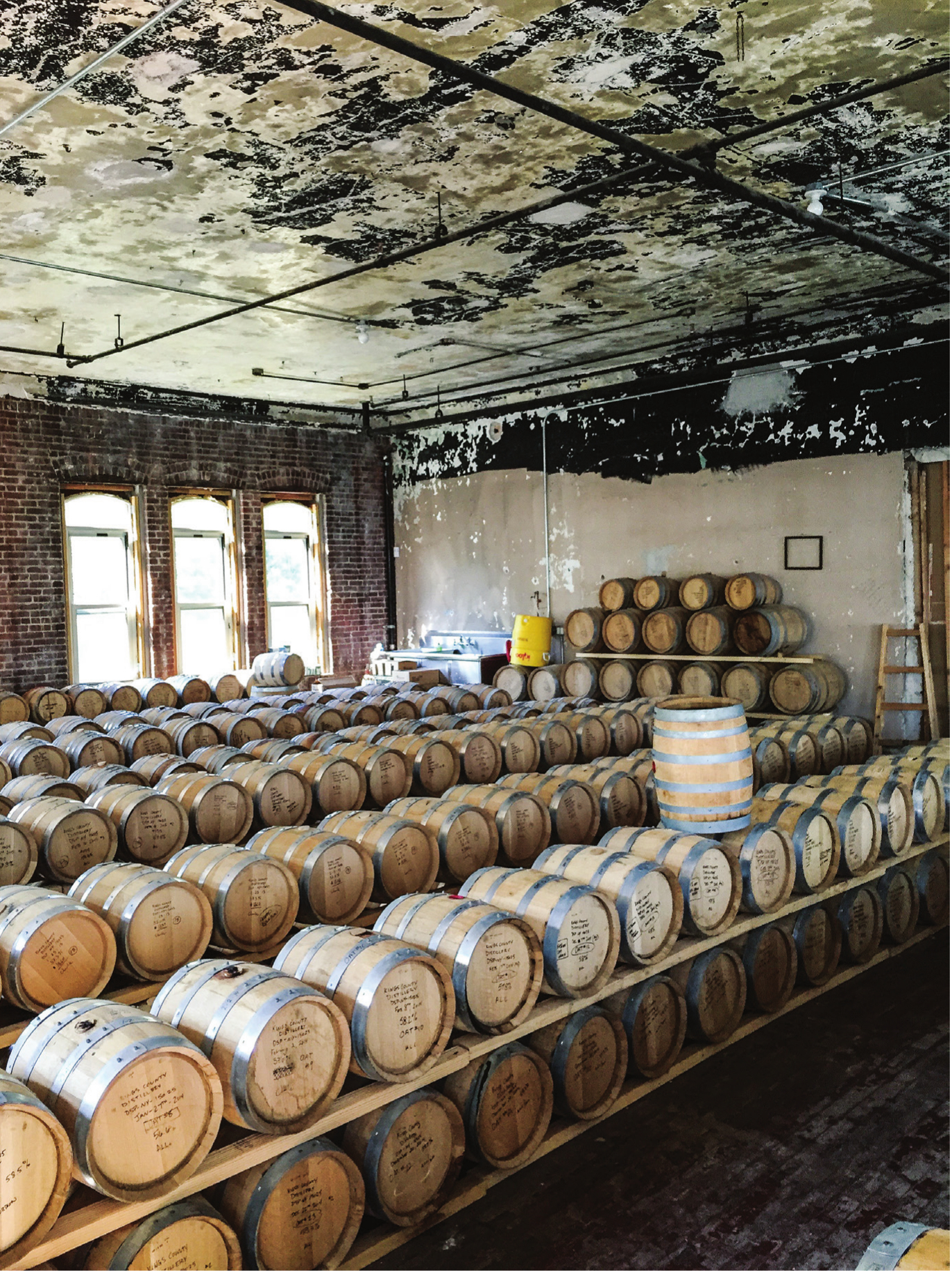 Kings County Distillery Barrel Room. Photo by   Valery Rizzo