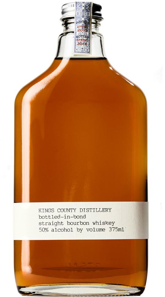 1. Kings County Bottled in Bond Straight Bourbon Whiskey
