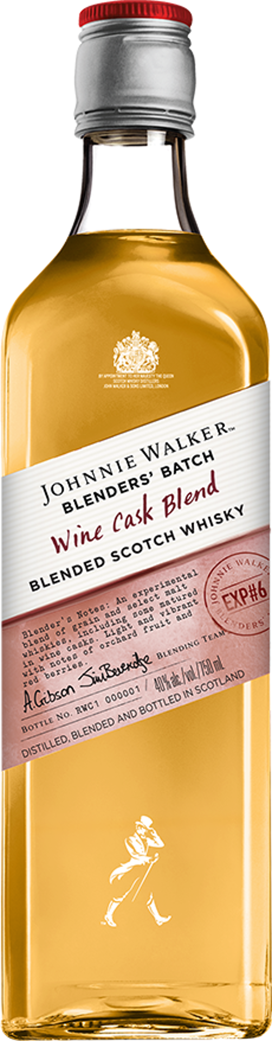 4. Johnnie Walker Wine Cask