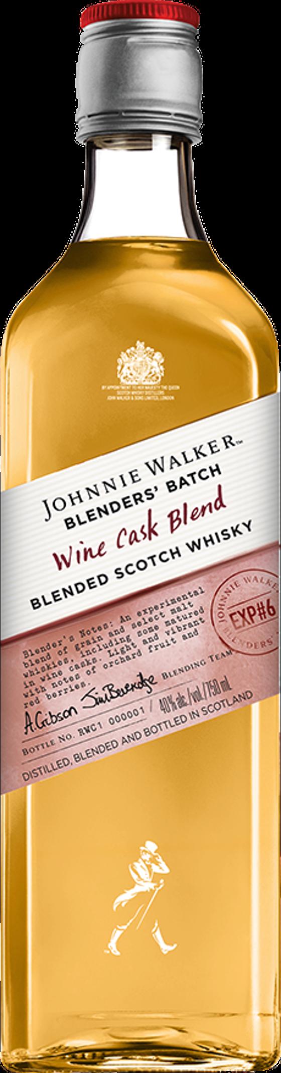 4. Johnnie Walker Wine Cask
