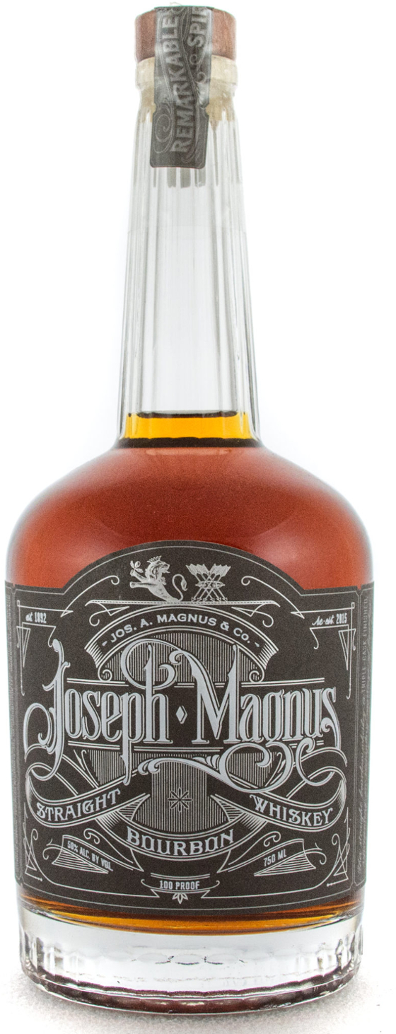 5. Joseph Magnus Straight Bourbon Whiskey
