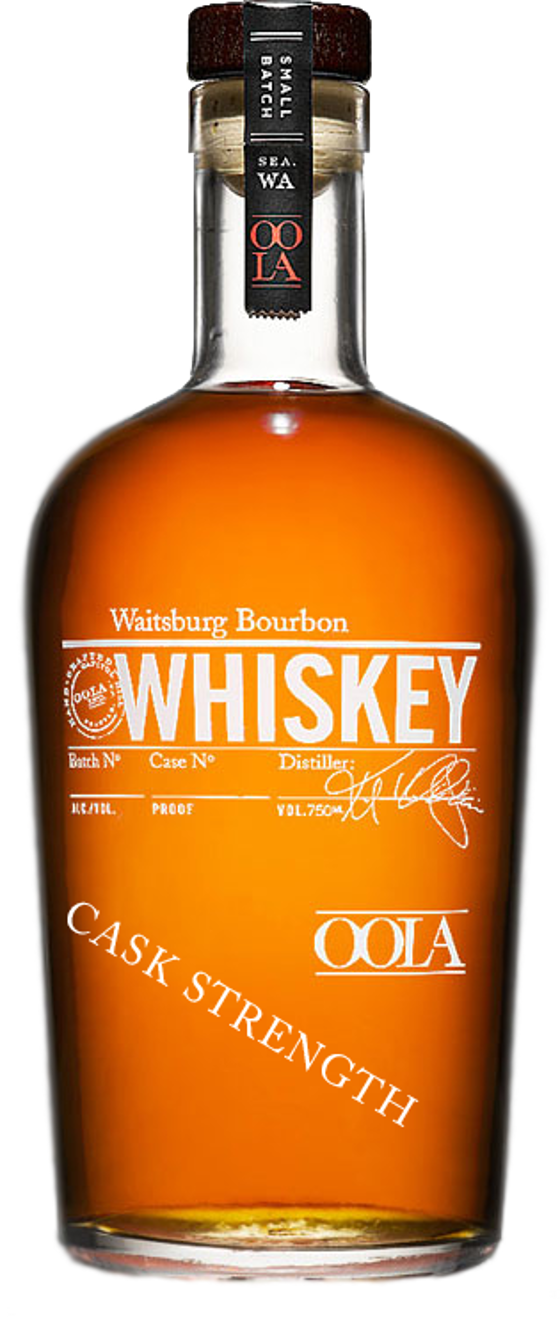 6. Waitsburg Cask Strength Bourbon Whiskey