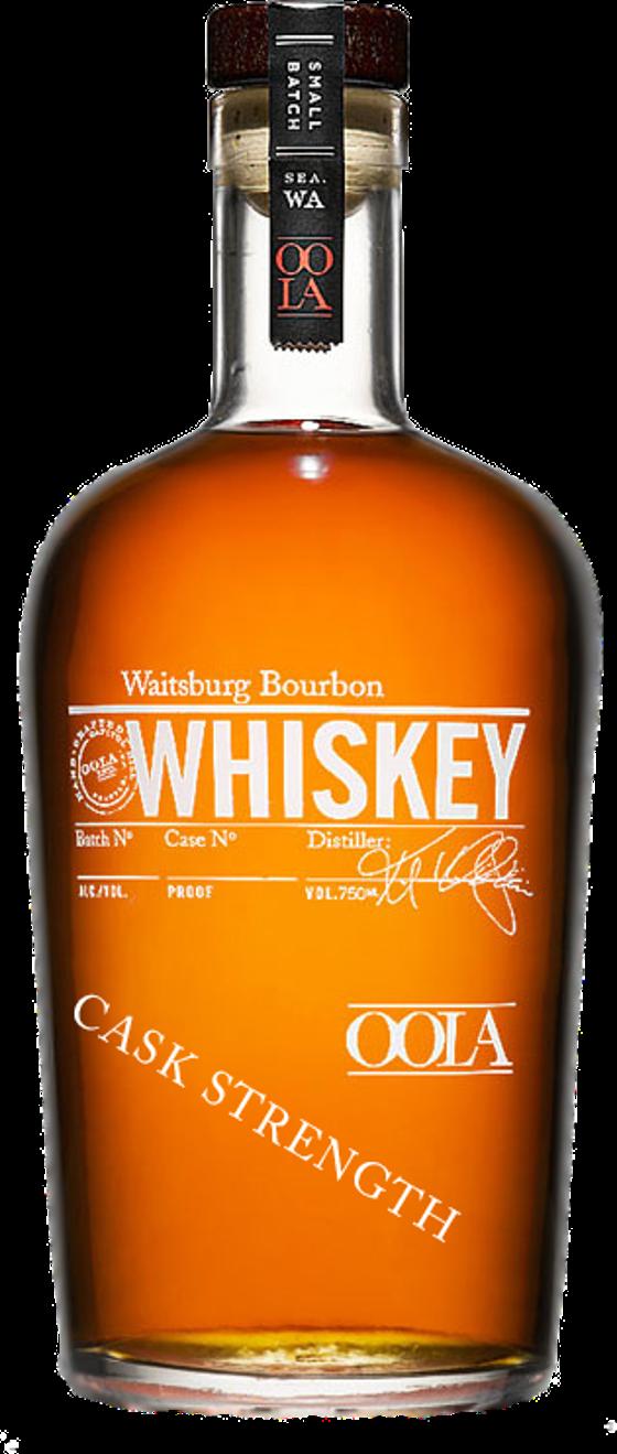 6. Waitsburg Cask Strength Bourbon Whiskey