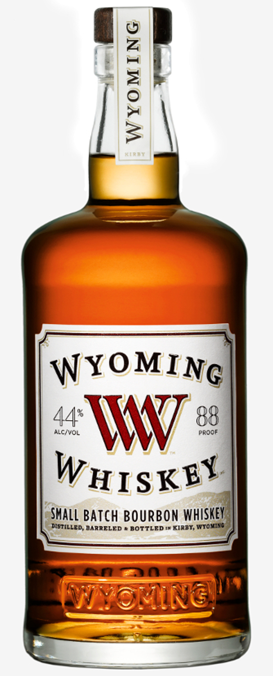 8. Wyoming Whiskey Small Batch Bourbon Whiskey