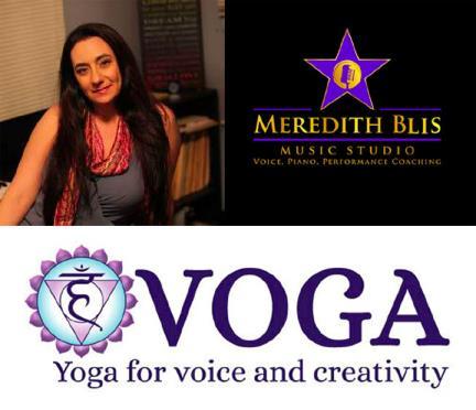 Meredith Blis   Meredith Blis Music Studio   Voga Yoga  Digital Marketing, Social Media