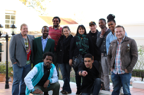 Our awesome Joburg-based crew