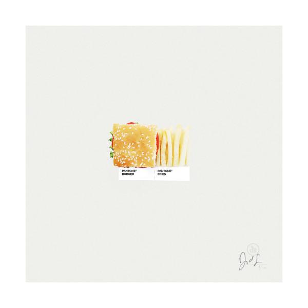 Burger & Fries.