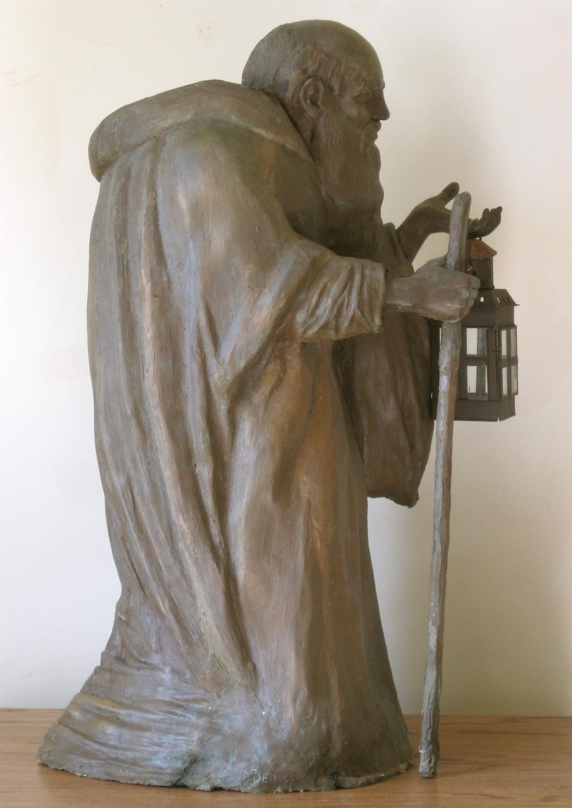 Deborah   Dendler    Diogenes    Epoxy bronze, wood, tin, glass, wax    NFS