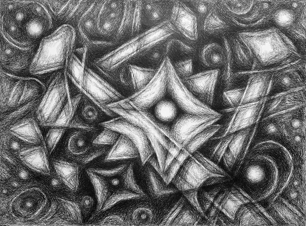 Valeriu Boborelu Title: Bright Morning Star Size: 22 x 30 Price: $700 Medium: Graphics