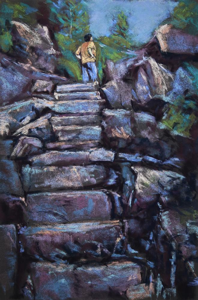 Anita Gladstone Title: More?! Size: 18 x 12 x 0 Price: $500