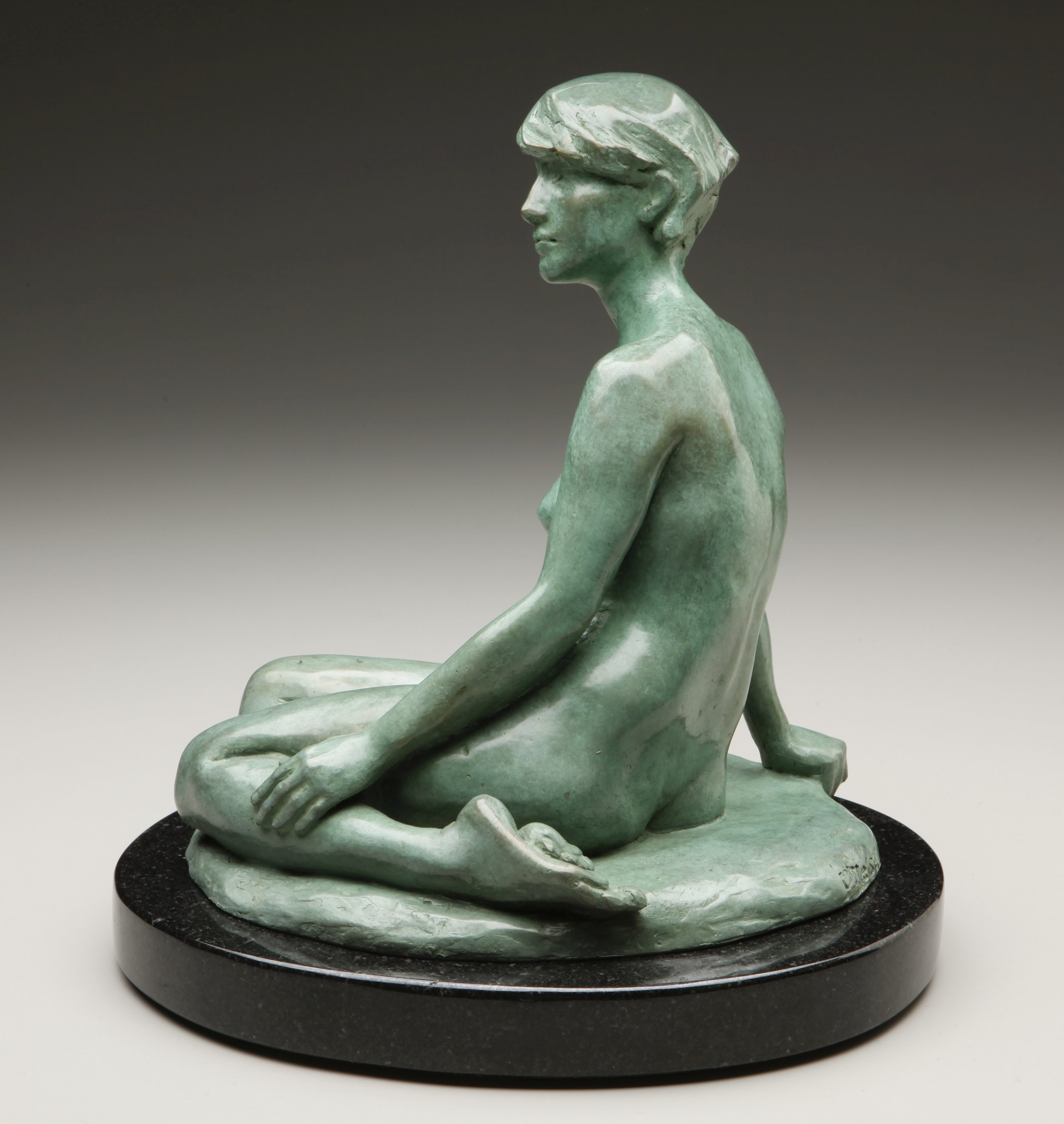 Olga Nielsen Title: Silence Size: 12 x 9 x 11 Price: $5500
