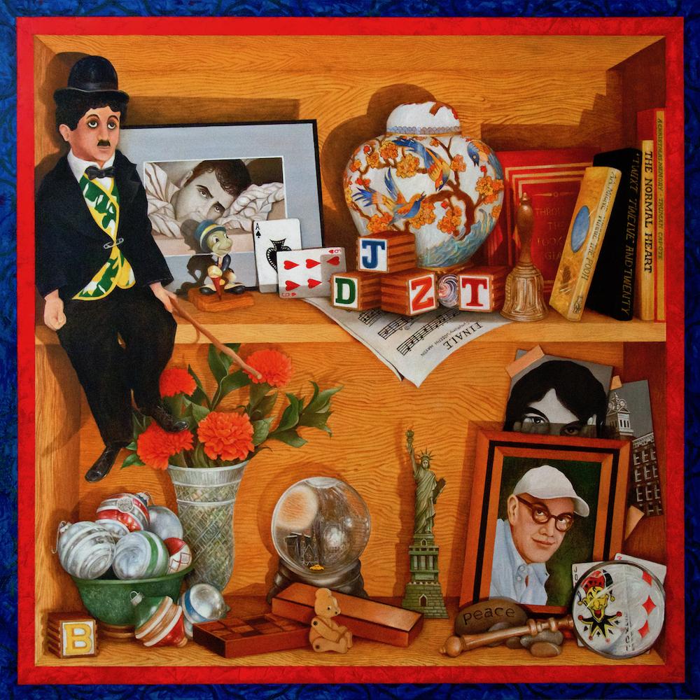 James DePietro Title: Shelf Life Size: 30 x 30 x 2 Price: $3000