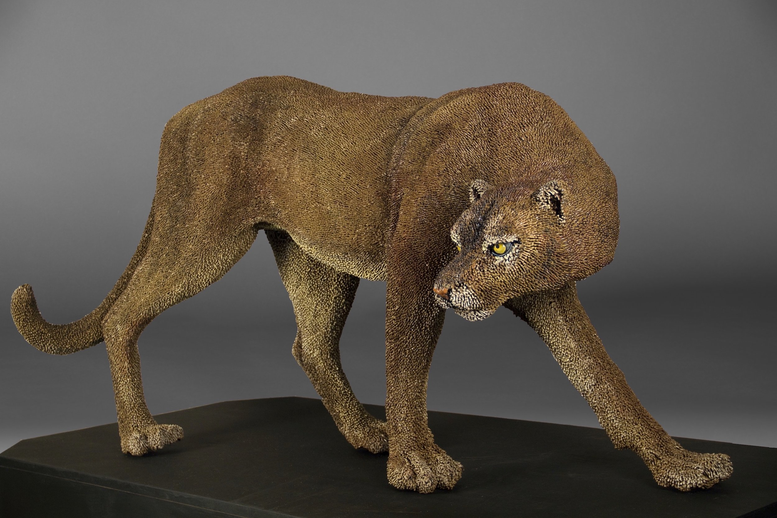 Mary Taylor Title: The Panther Size: 34 x 64 x 27 Price: $90000