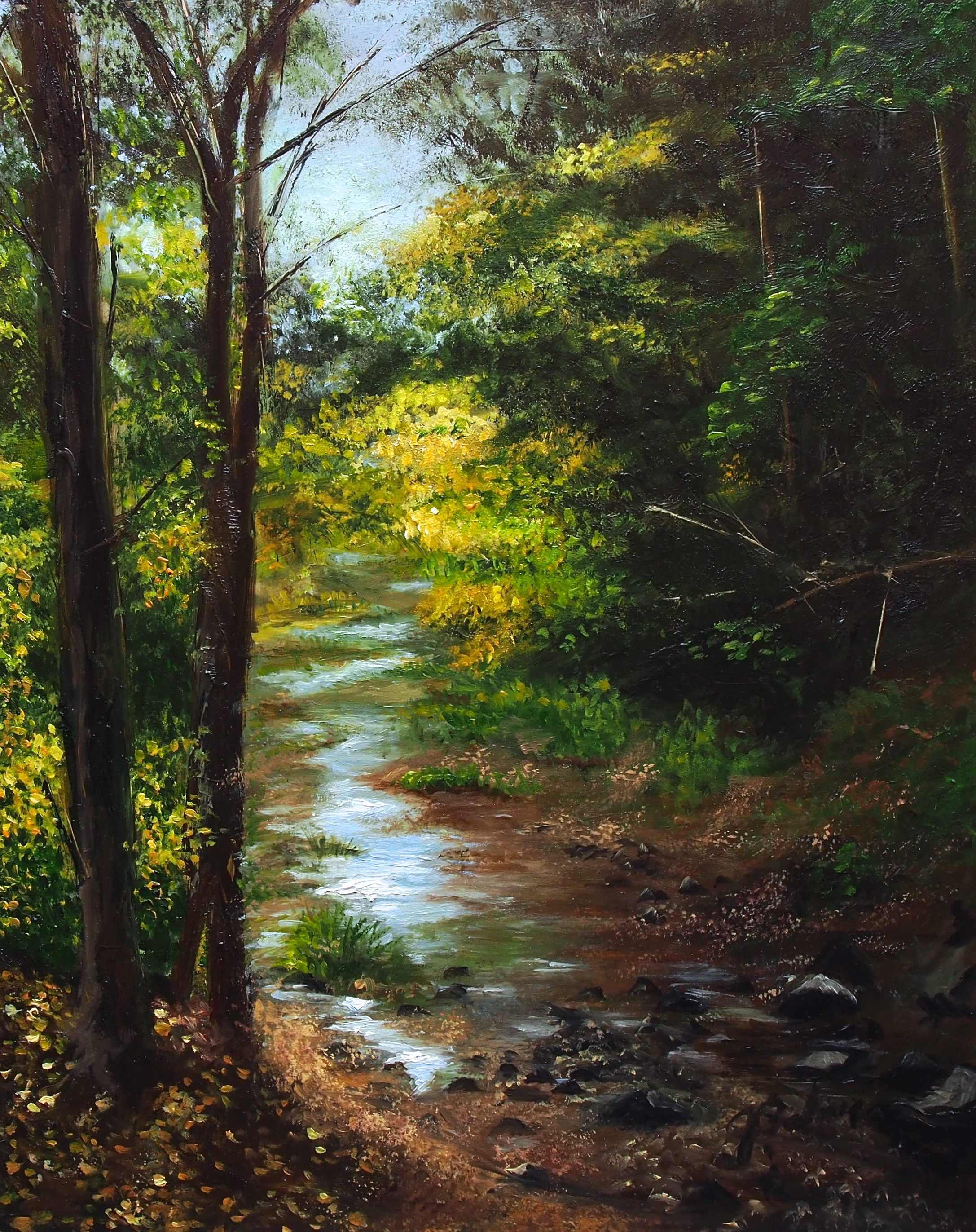 JoanMarie Palmer Title: After the Rain Size: 14 x 11 Price: $1200