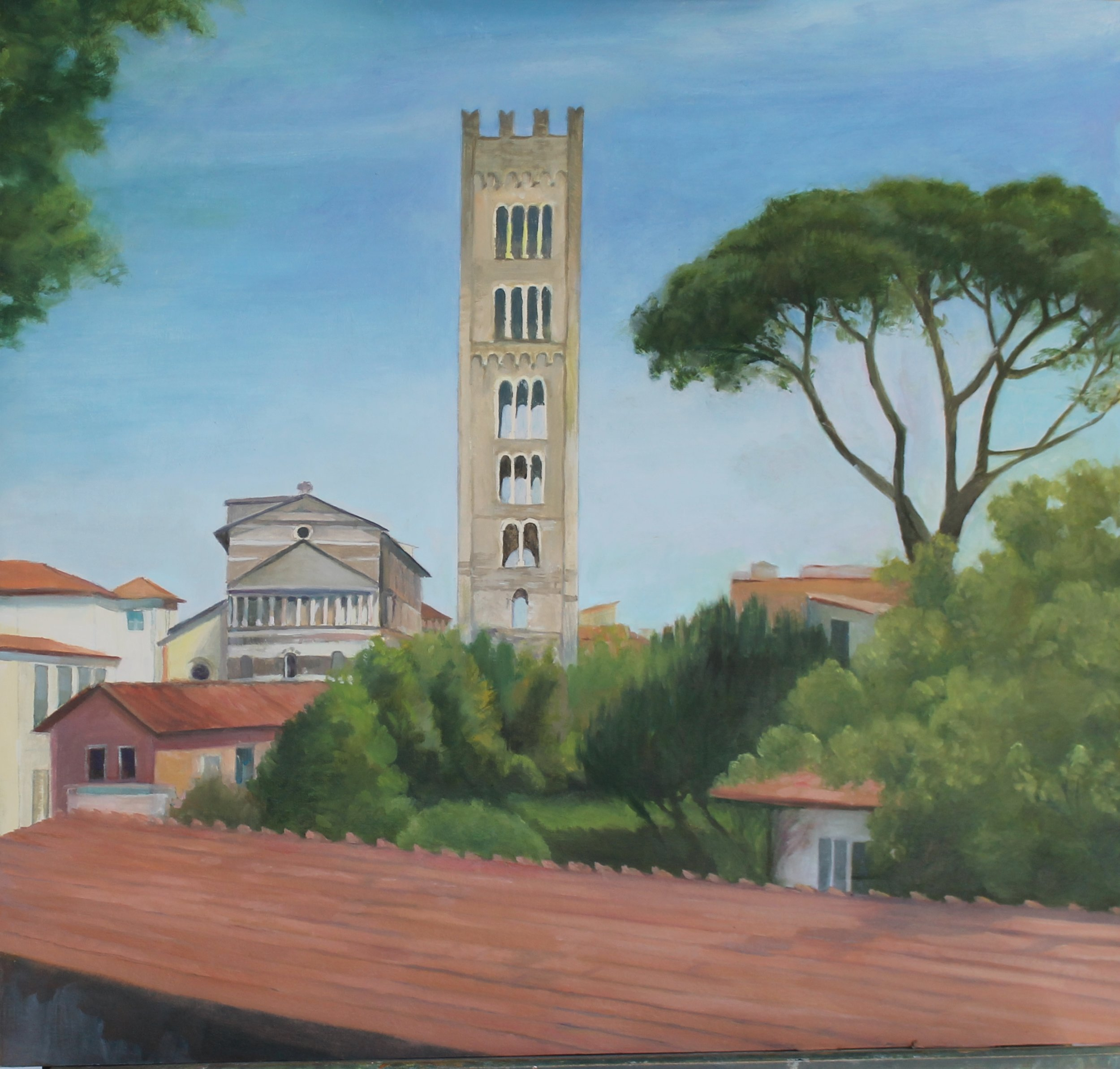 Barbara Stein Title: Lucca, San Martino Cathedral Size: 20 x 20 Price: $2000