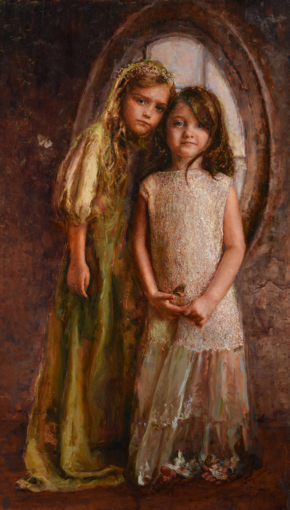 Ann Steverson Title: Mariposas Size: 21 x 36 x .25 Price: NFS