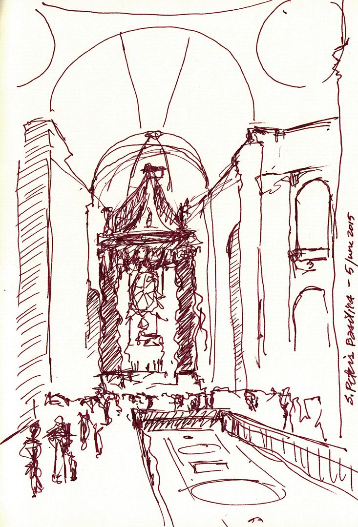 St. Peter's Basilica: Baldacchino