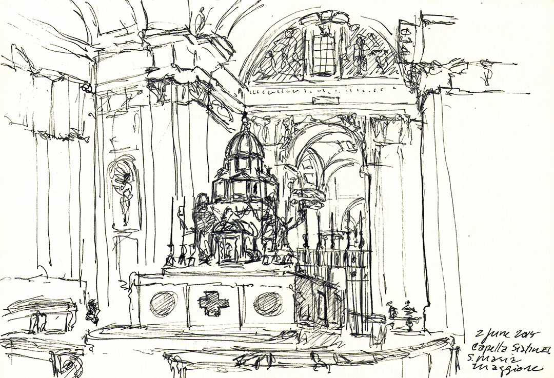 Basilica di Santa Maria Maggiore: Cappella Sistina
