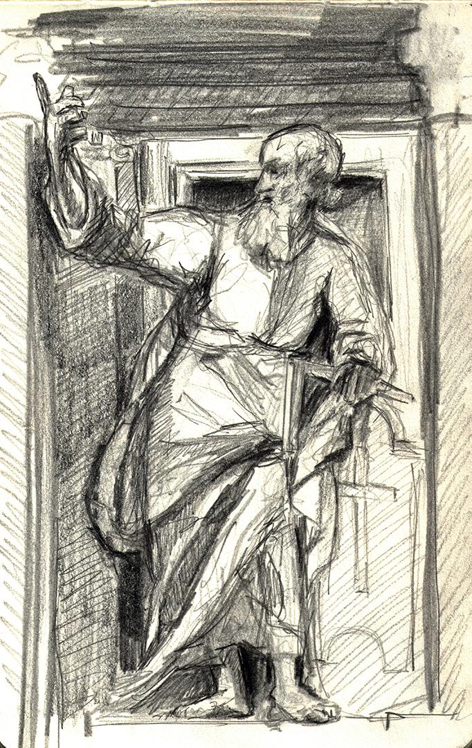 ArciBasilica di San Giovanni in Laterano: San Tomas