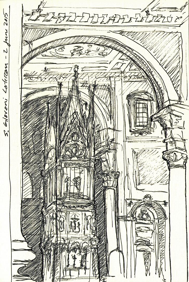 ArciBasilica di San Giovanni in Laterano: Baldacchino