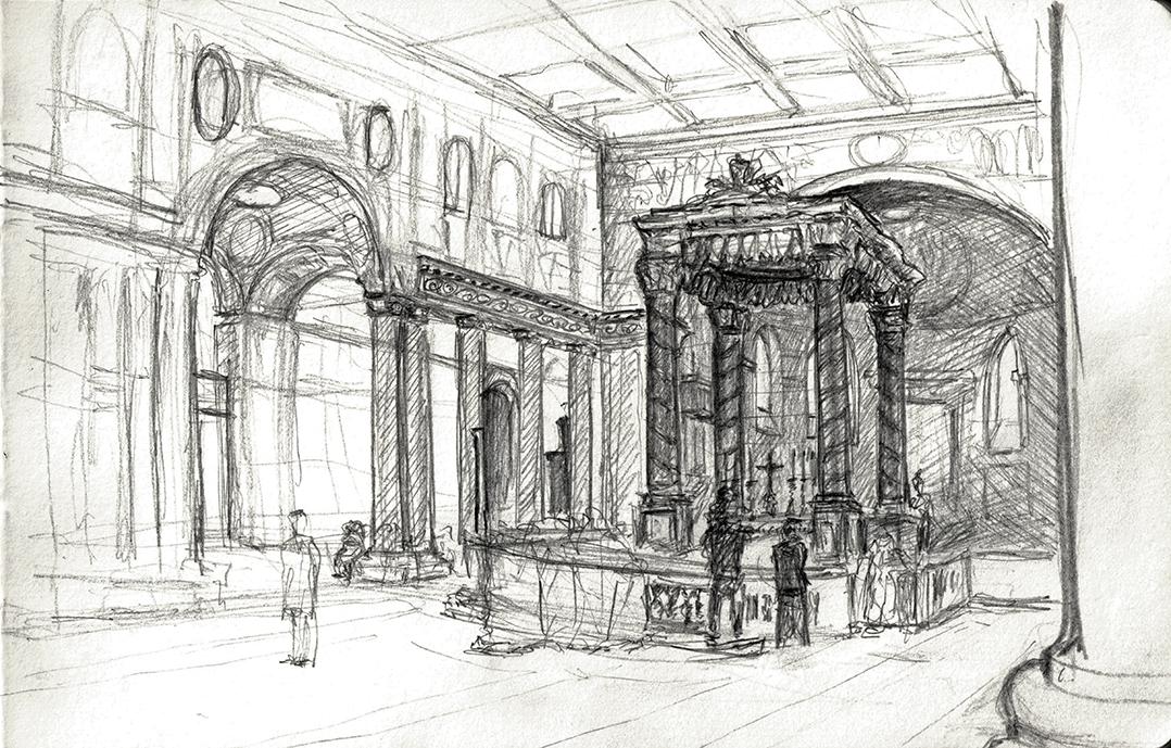 Basilica di Santa Maria Maggiore: Northeastern View