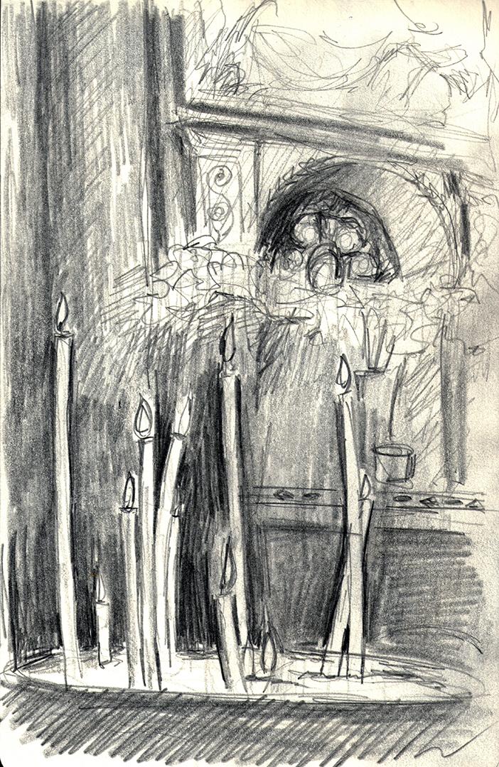 Il Gesu: Chapel of Madonna della Strada