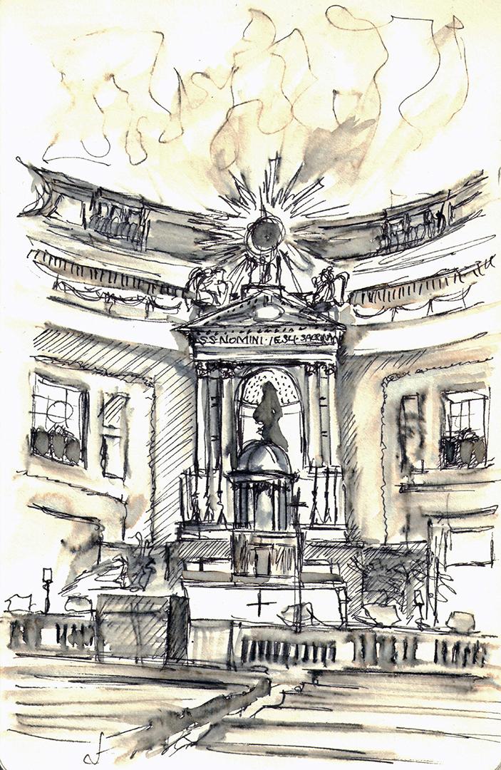 Il Gesu: High Altar
