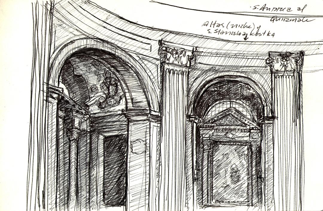 Sant'Andrea al Quirinale, by Bernini