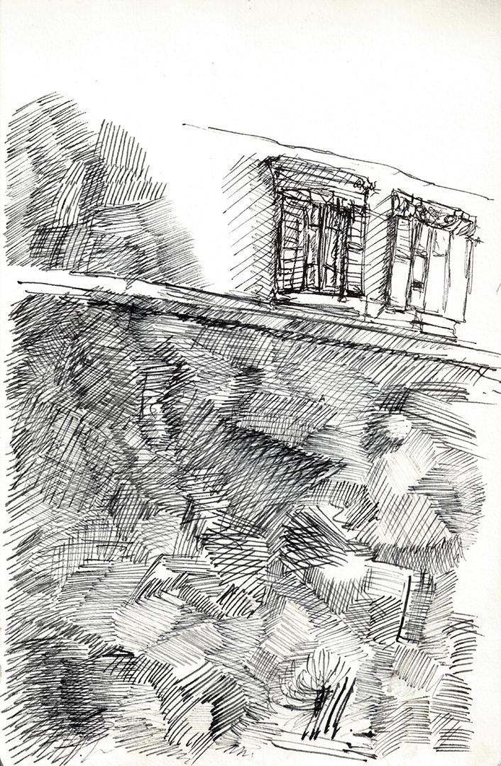 Stucco Wall along Via del Portico D'Ottavia (Jewish Ghetto)