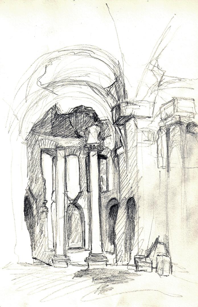 Hadrian's Villa: Grandi Terme (Great Baths)