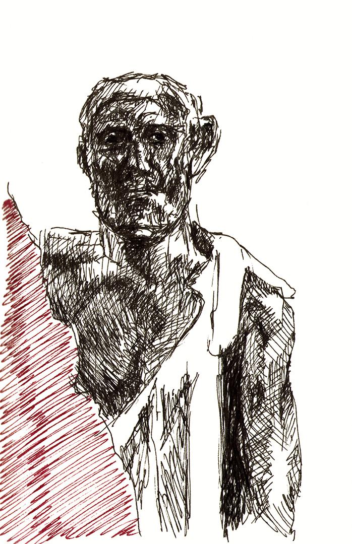 A. Rodin: Les Bourgeois de Calais, 1884-5