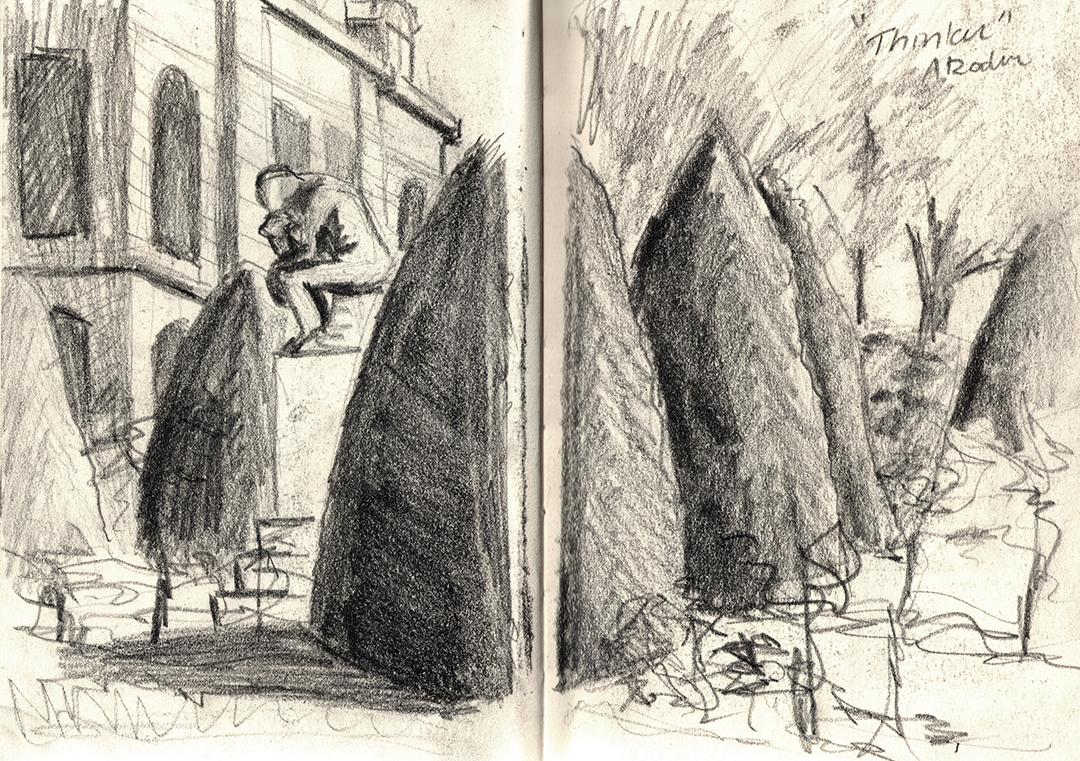 Rodin Gardens: The Thinker
