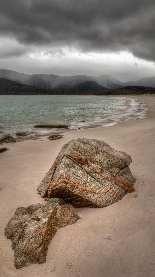 Rain Approaching, Wineglass Bay