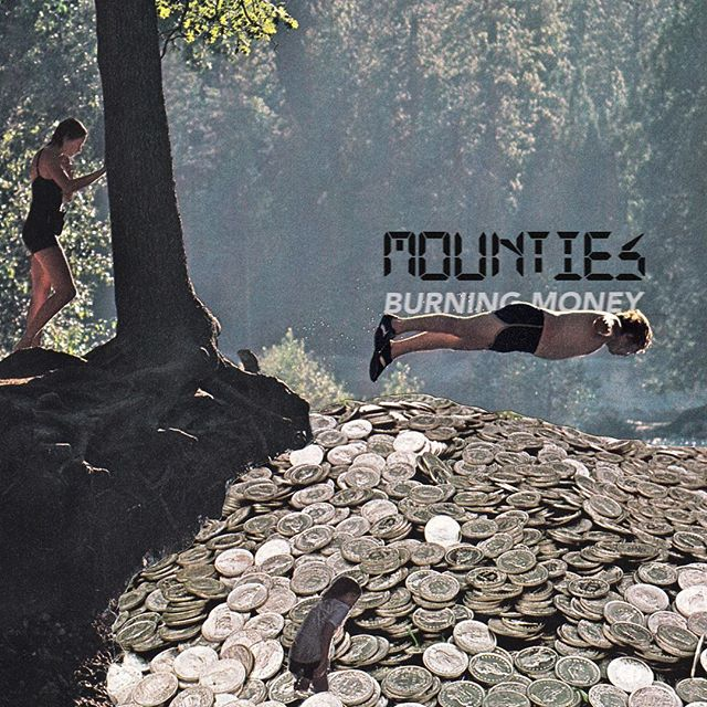 Burning Money 💰 💵  First single 2nd album this Friday. Artwork: @randygrskovic  @lightorgan records