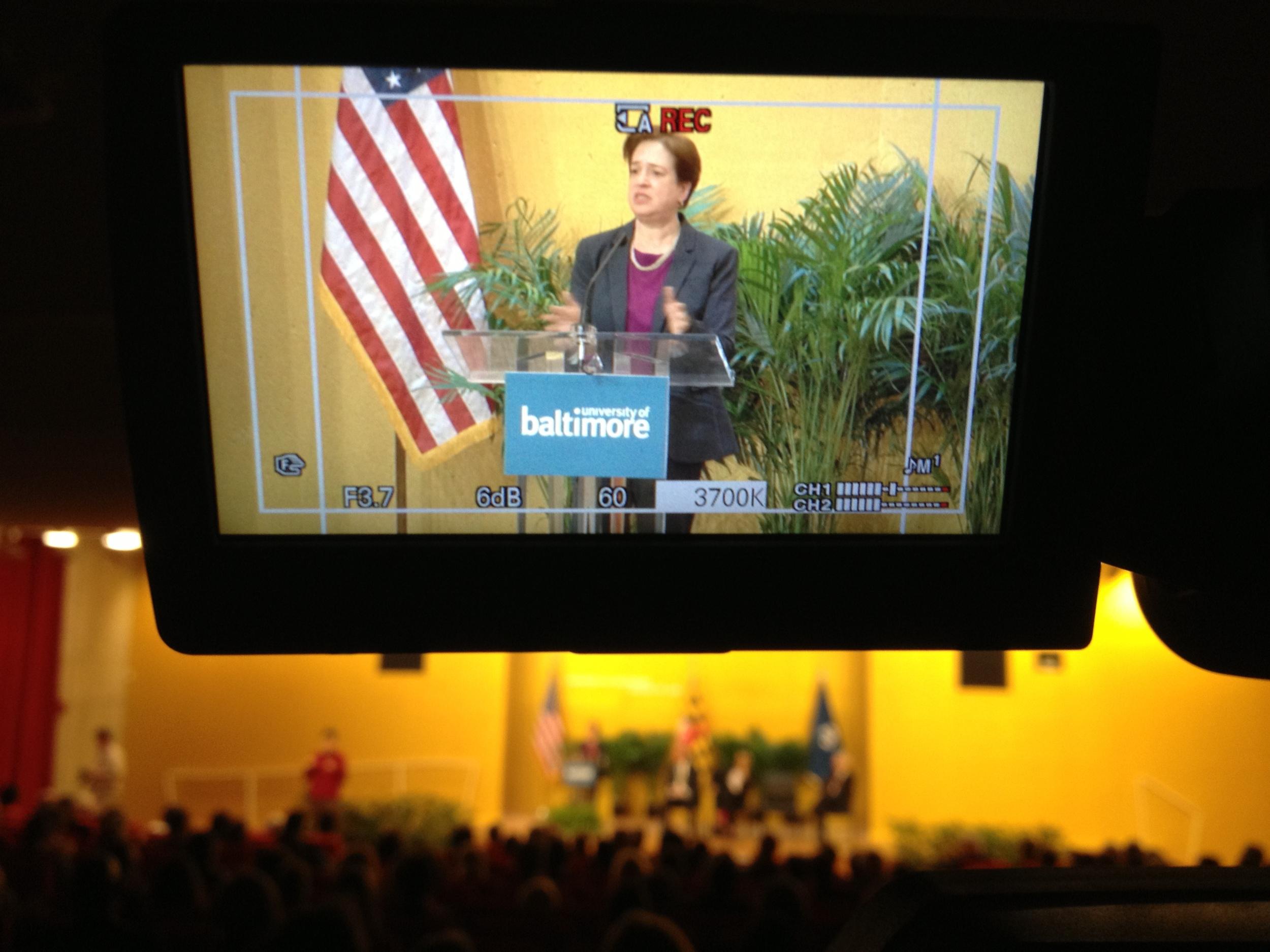 U.S. Supreme Court Associate Justice Elena Kagan