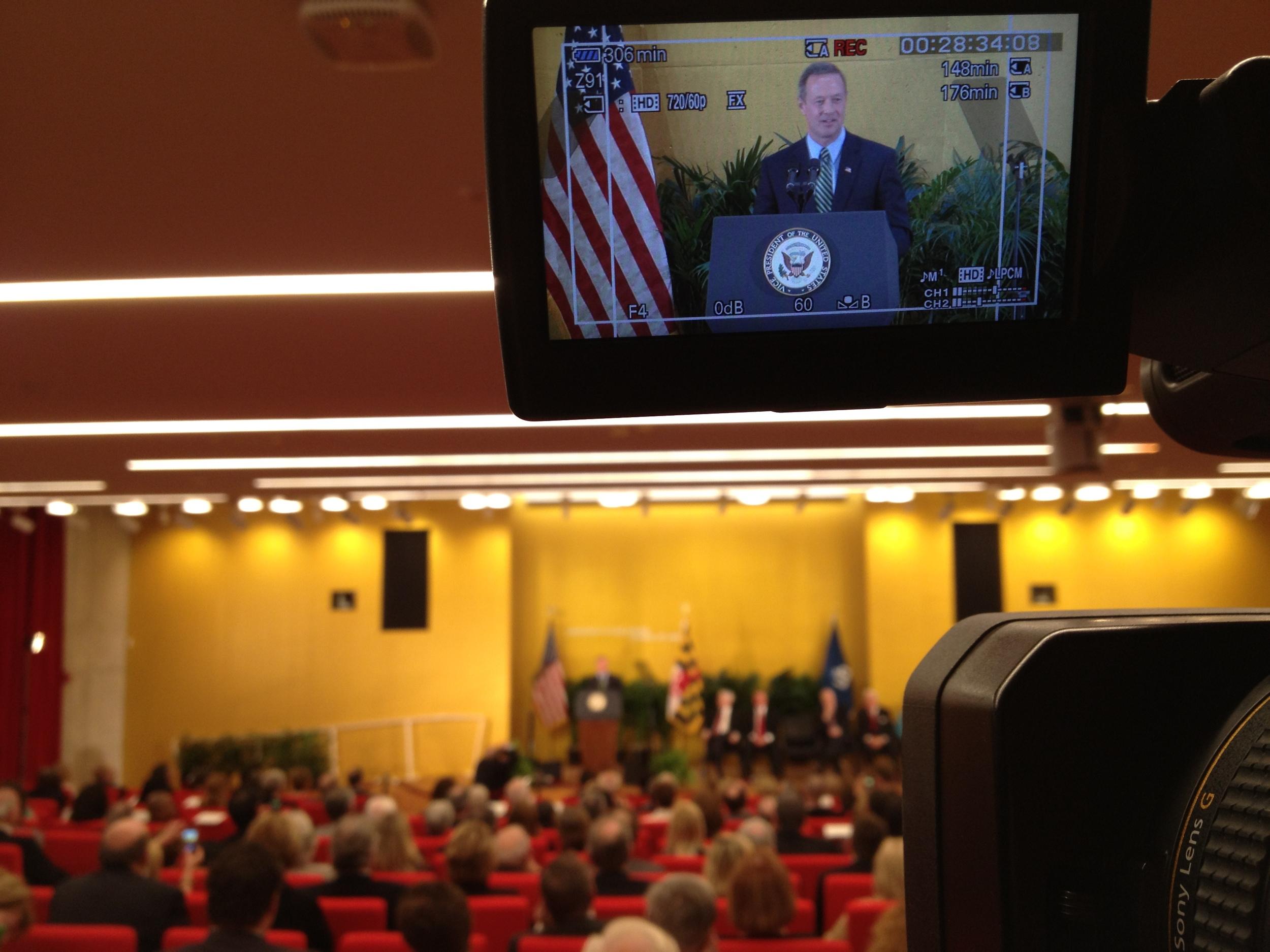 Maryland Governor Martin O'Malley