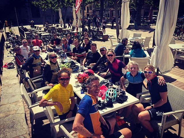 Tri Camp Day one bike ride, all roads lead to Campenet! - - - - #tricamp2019 #brightontriclubtrainingcamp #mallorcacamp #triathlontraining #brightontrimallorca #whatgoesontour #triathletesontour #brightontriclub - - 📸: @picsbyrichtc  @gottotri @s_brage