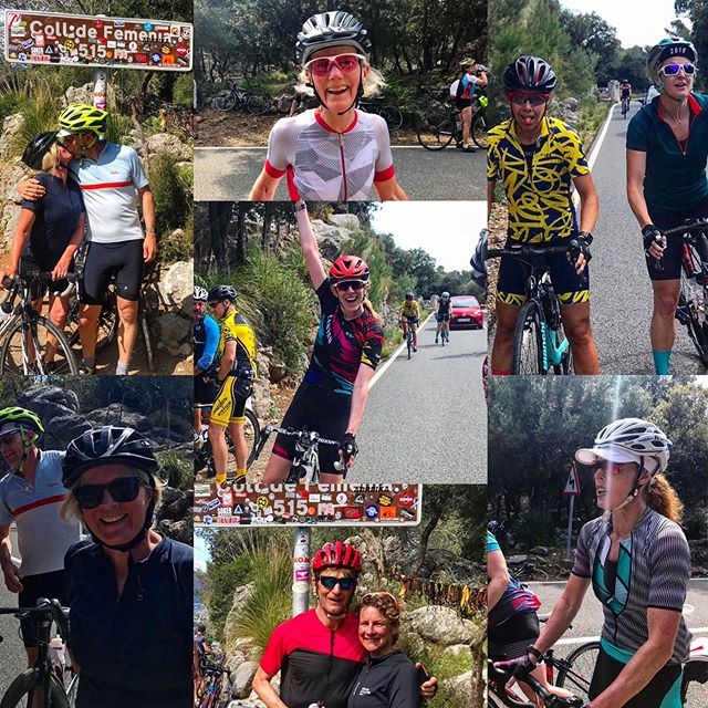 Living the dream today at the top of the 7.7k , 550m Coll de Fermenia. Cycling love 😍 - - - - #tricamp2019 #brightontriclubtrainingcamp #mallorcacamp #triathlontraining #brightontrimallorca #whatgoesontour #triathletesontour #brightontriclub - - 📸: @picsbyrichtc  @gottotri